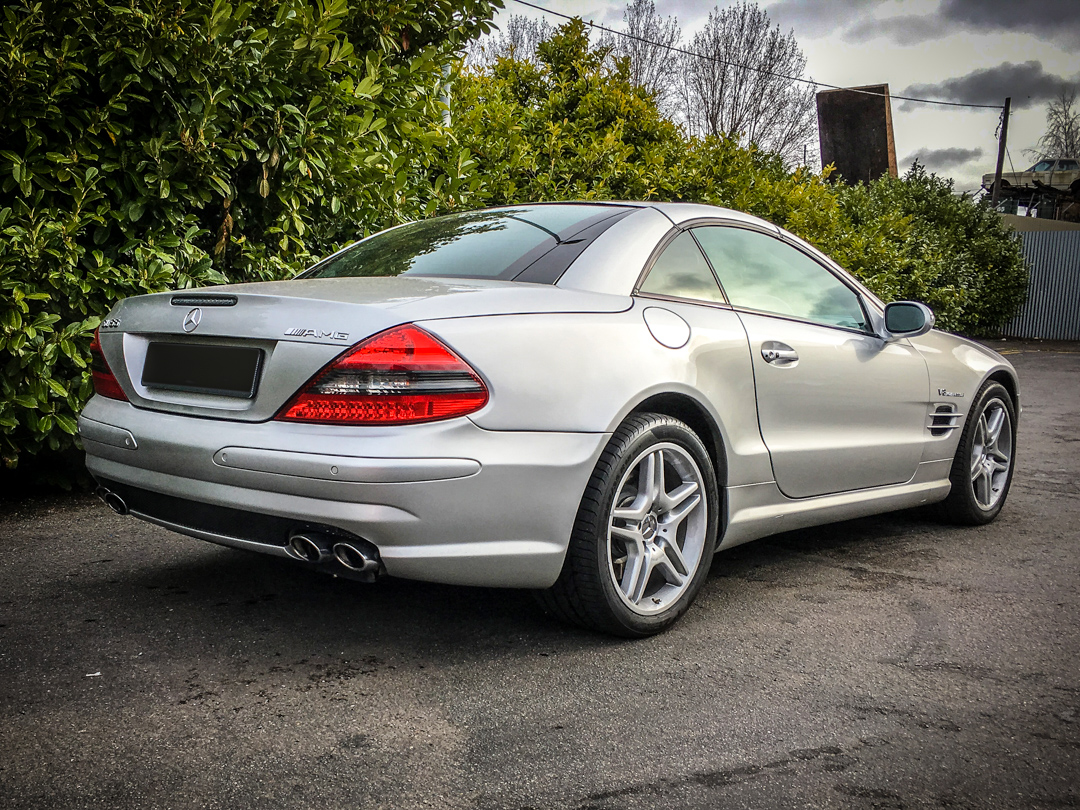 Mercedes SL Suspension Strut Joint Replacement and Service